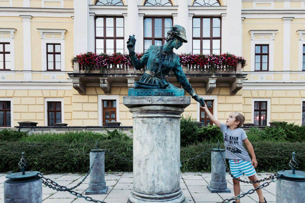 1. ročník festivalu Živé sochy s podporou mesta Spišská Nová Ves