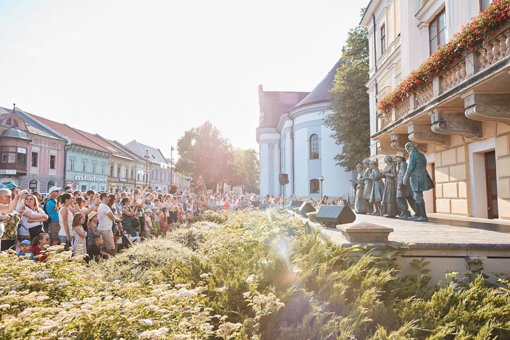 4. ročník medzinárodného festivalu Živé sochy 1. – 2. august